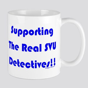 Supportin Real SVU Detectives Mug