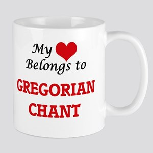 My heart belongs to Gregorian Chant Mugs