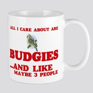 All I care about are Budgies Mugs