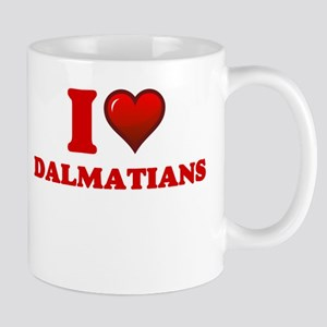 I love Dalmatians Mugs