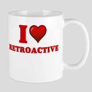 I Love Retroactive Mugs