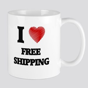 I love Free Shipping Mugs