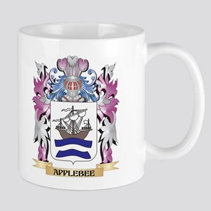Applebee Coat of Arms (Family Crest) Mugs