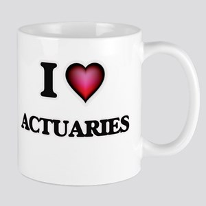 I love Actuaries Mugs