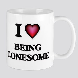 I Love Being Lonesome Mugs