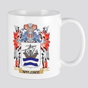 Applebee Coat of Arms - Family Crest Mugs