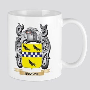 Hanson Coat of Arms - Family Crest Mugs
