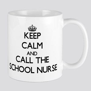 Keep calm and call the School Nurse Mugs