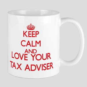Keep Calm and love your Tax Adviser Mugs