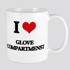 I Love Glove Compartmenst Mugs