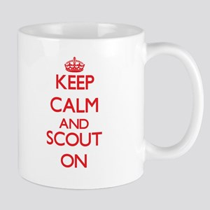 Keep Calm and Scout ON Mugs