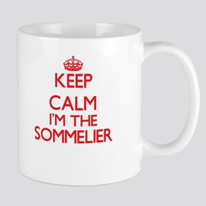 Keep calm I'm the Sommelier Mugs