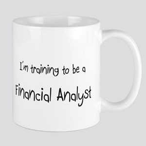 I'm training to be a Financial Analyst Mug