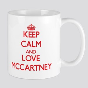 Keep calm and love Mccartney Mugs