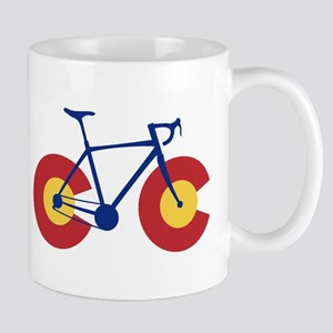 Colorado Flag Bicycle Mugs