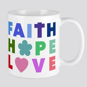 Faith Hope Love Mugs