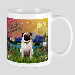 Fantasy Land with Fawn Pug Mug