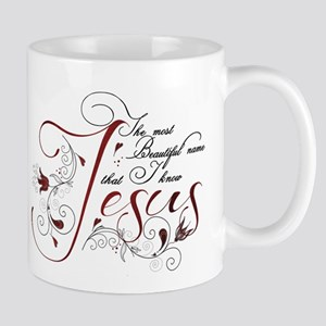 Beautiful name of Jesus Mug