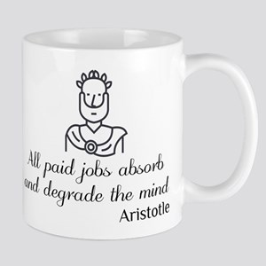 Aristotle on Jobs Mugs