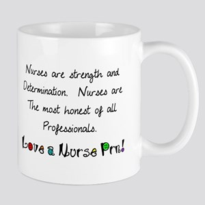 nurses are strength shirt Mug
