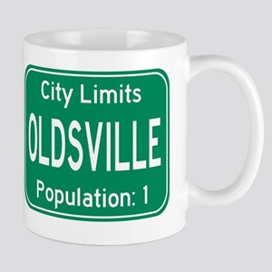 Oldsville City Limits Mug