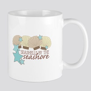 Seashells By The Seashore Mugs