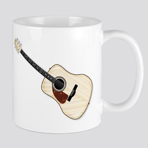 Left Handed Acoustic Guitar Mugs