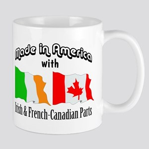 Irish & French-Canadian Parts Mug