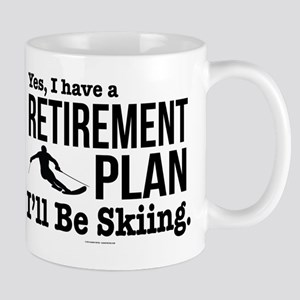 Ski Retirement Plan Mugs