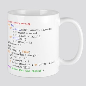 Python Does Java Objects Mugs