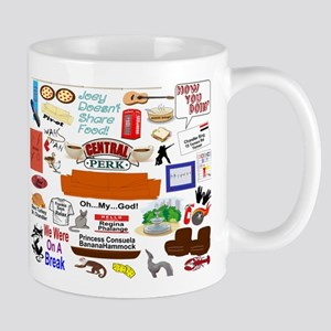 Friends TV Show Collage Mug