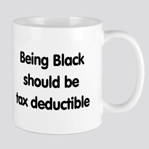 Black, tax deductible Mug