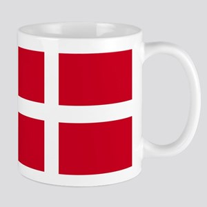 Flag of Denmark 1 Mugs