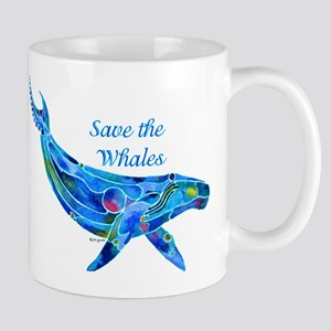 Humpback Save the Whales Mug