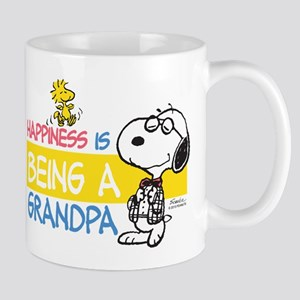 Happiness is being a Grandpa Mug