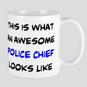awesome police chief 11 oz Ceramic Mug
