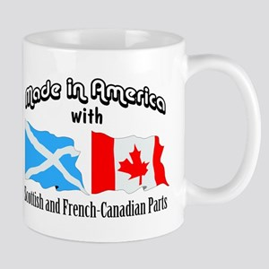 Scottish-French Canadian Mug