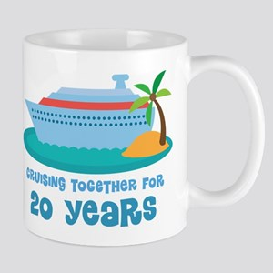 20th Anniversary Cruise Mug