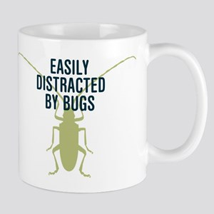 Distracted By Bugs Mugs