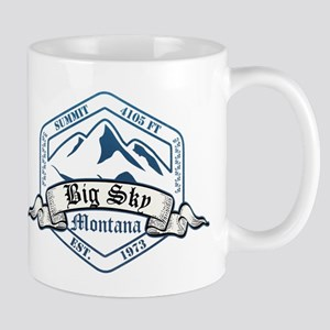 Big Sky Ski Resort Montana Mugs