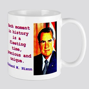 Each Moment In History - Richard Nixon 11 oz Ceram