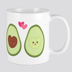 Cute Avocado in love, perfect other half Mugs