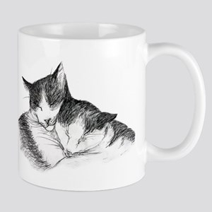 Cat Nap Snuggle II Mugs
