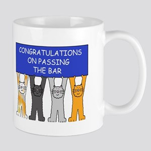 Congratulations on passing the bar. Mugs