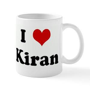 I Heart Kiran Mugs Cafepress