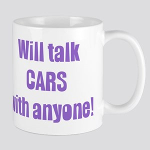 Will Talk Cars with Anyone Mug
