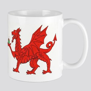 Welsh Dragon Birthday Mug