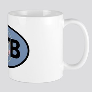 Mountain Biking Utah Flag Mugs