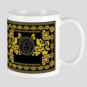 Gold Medusa Mugs