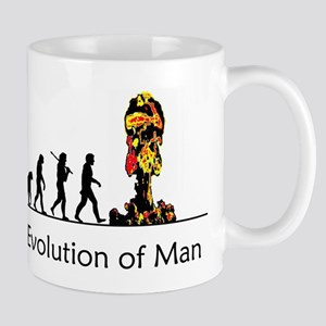 Evolution of Man - Bomb Mug